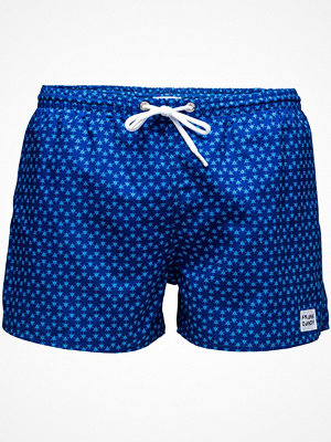 Frank Dandy Sail Ninja Dart Swimshorts Blue Pattern