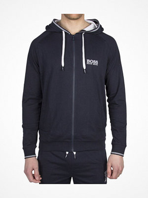 Pyjamas & myskläder - Hugo Boss Jacket Hooded Darkblue