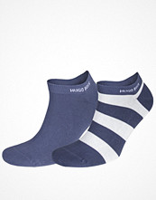 Strumpor - Hugo Boss 2-pack Design Ankle Socks Blue Striped