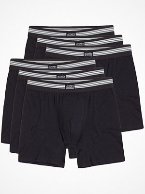 Jockey 6-pack Cotton Stretch Boxer Trunk  Black