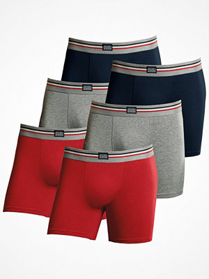 Jockey 6-pack Cotton Stretch Boxer Trunk  Mixed Colour