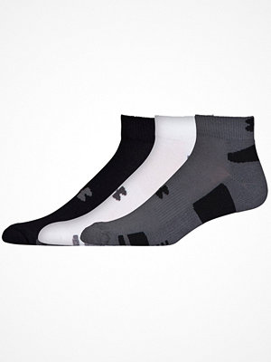 Strumpor - Under Armour 3-pack HeatGear Low Cut Sock Multi-colour