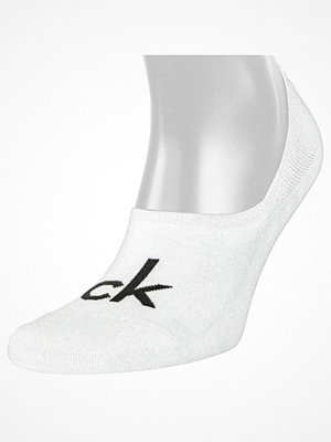 Strumpor - Calvin Klein Modern Cotton Logo Liner Kourtney White
