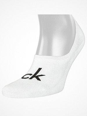 Calvin Klein Kristal Modern Cotton Logo Liner Sock White