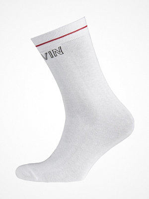 Calvin Klein Modern Cotton Logo Tube Kris Socks White
