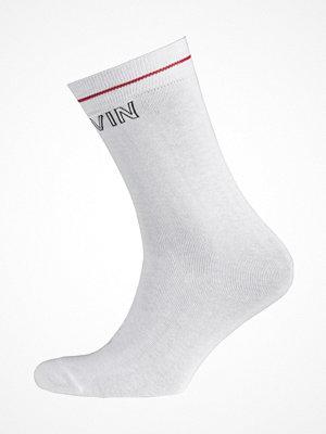 Strumpor - Calvin Klein Modern Cotton Logo Tube Kris Socks White