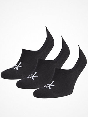Calvin Klein 3-pack Albert Logo Liner Socks Black