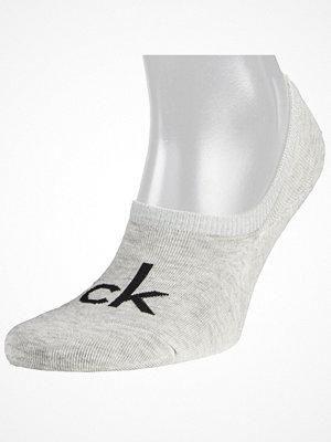 Calvin Klein Kristal Modern Cotton Logo Liner Sock Grey