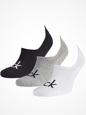 Strumpor - Calvin Klein 3-pack Albert Logo Liner Socks Multi-colour