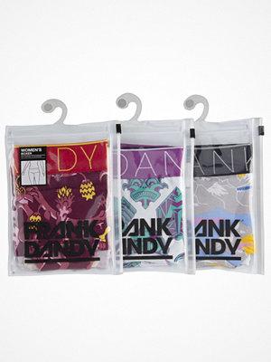 Frank Dandy 3-pack Womens Boxer Mix Multi-colour