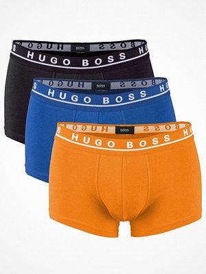 Hugo Boss 3-pack Stretch Cotton Trunks Blue/Orange