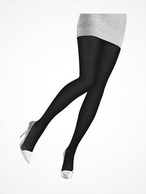 Strumpbyxor - Oroblu Nives Fine Wool Tights Black