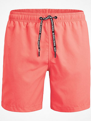Björn Borg Solid Swim Shorts Coral