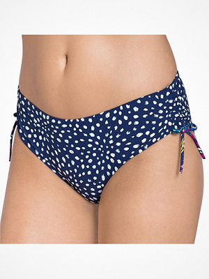 Triumph Painted Leaves Midi Navy-2