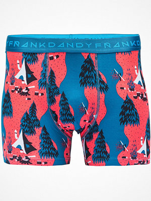 Frank Dandy Sea Camp Boxer Blue Pattern