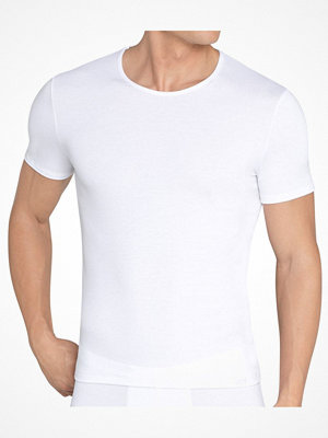 Pyjamas & myskläder - Sloggi For Men Basic Soft SH 03 O-Neck White