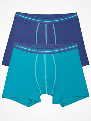 Sloggi 2-pack For Men Match Short Blue/Turquoise