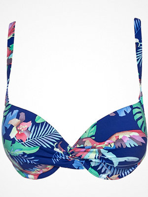 Bikini - Sunseeker Tropical Dream Moulded Cup Top Blue Pattern