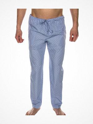 Hanro Night And Day Long Pant Blue Pattern