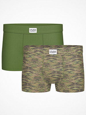Frank Dandy 2-pack Bamboo Trunks Green