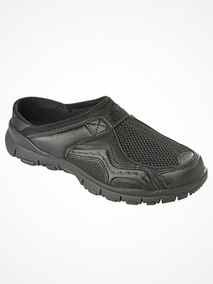 Scholl Jump Clogs Black-2