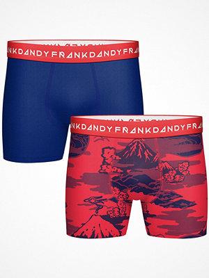 Frank Dandy 2-pack Mount Haze Boxer Blue/Red