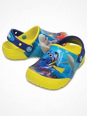 Tofflor - Crocs Fun Lab Dory Clog Yellow Pattern
