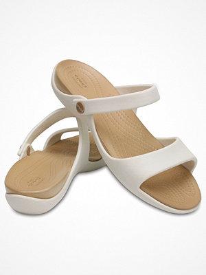 Crocs Cleo V White