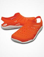 Tofflor - Crocs Swiftwater Wave M Orange/White