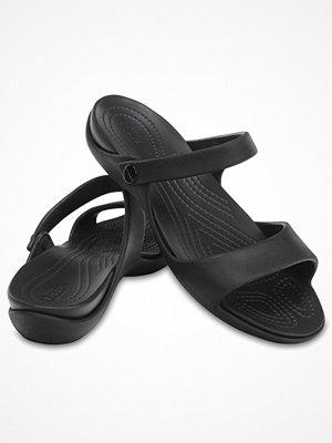 Tofflor - Crocs Cleo V Black