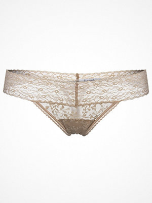 Calvin Klein Bare Lace Thong Beige