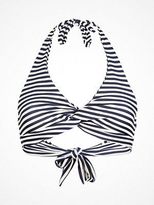 Scampi Tiburon Bikini Top Navy Striped