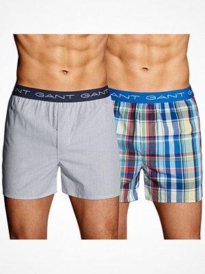 Gant 2-pack Boxer Shorts East Rock w Haven Logo Multi-colour