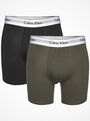 Calvin Klein 2-pack Modern Cotton Boxer Briefs Black/Green