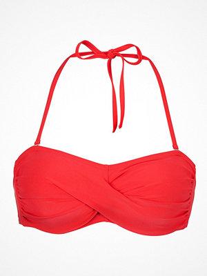 Abecita Alanya Bandeau Bikini Bra Coralred