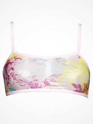 Calvin Klein Sheer Marq Bralette Unlined Pink Pattern