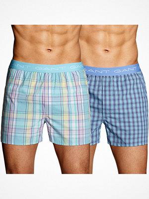 Gant 2-pack Boxer Shorts Beach Westville Logo Multi-colour