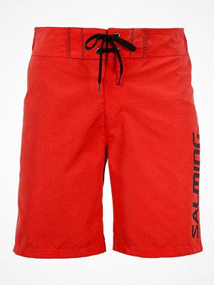Badkläder - Salming Charlie Swim Boardshorts Red