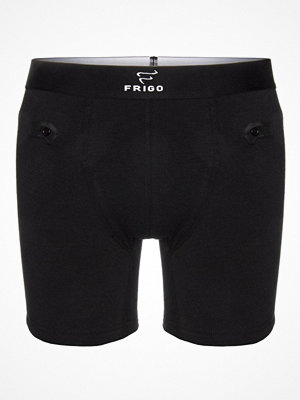 Frigo Underwear Frigo 4 Cotton Boxer Brief 6 Inch Black