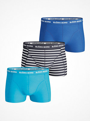 Björn Borg 3-pack Short Shorts BB Stripe Blue Striped