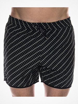 Badkläder - Tiger of Sweden Goole Swim Shorts Black pattern-2