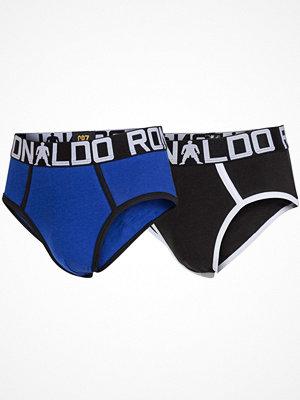 CR7 Cristiano Ronaldo 2-pack Boys Line Briefs Black/Blue