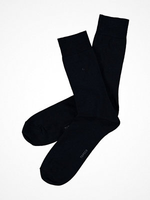 Topeco Mens Socks Plain Dress Sock Navy-2