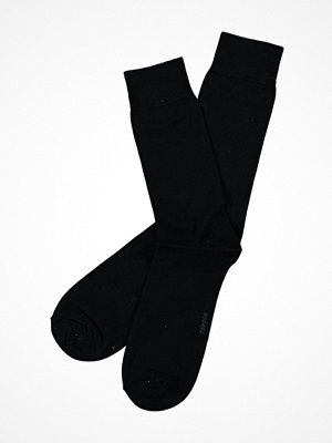 Topeco Men Socks Plain Dress Sock Black