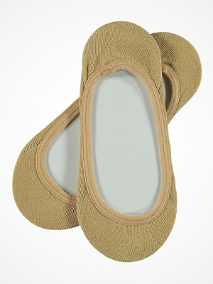 Strumpor - Topeco Ladies In Shoe Ballerina Solid Beige