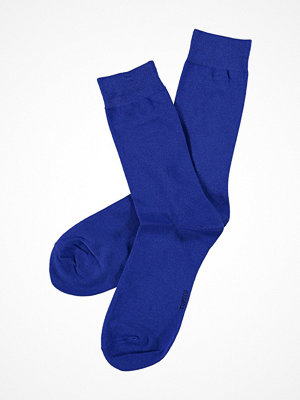 Topeco Mens Classic Socks Plain Blue