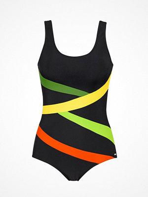 Baddräkter - Abecita Twist Swimsuit Black