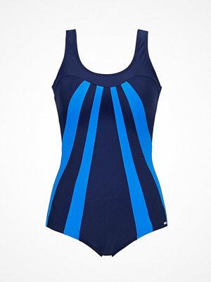Abecita Serpentine Swimsuit  Blue
