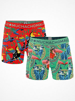 Kalsonger - Muchachomalo 2-pack Costa Rica Boxer Red/Green