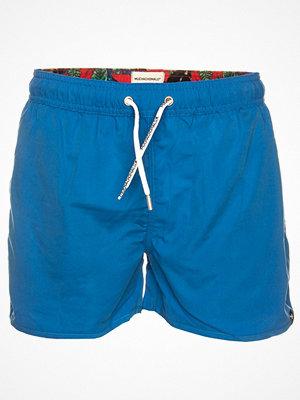 Badkläder - Muchachomalo Swim Solid Boardshort Blue